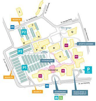 Plattegrond Isala 2 Zwolle